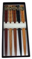 Berghoff Five Pair Bamboo Wood Chopsticks