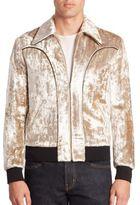 Saint Laurent Zip-Front Jacket