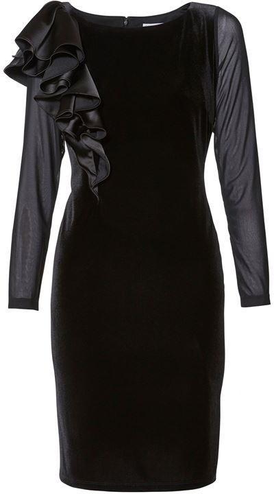 Thumbnail for your product : Gina Bacconi Karla Satin Velvet Dress