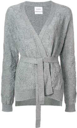 Barrie Beehive cashmere cardigan