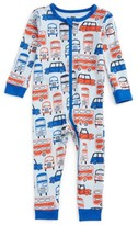 Tea Collection Infant Boy's Waverley Station Fitted One-Piece Pajamas