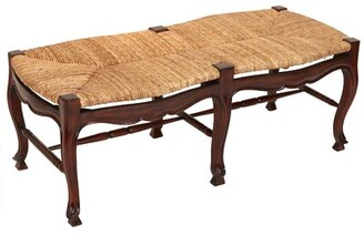 Manor Born Furnishings Toulouse Wood Bench Manor Born Furnishings