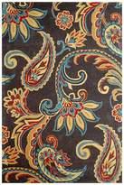 Cornermill Paisley Wool Rug, 110 x 160cm