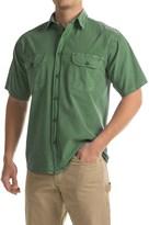 Stillwater Supply Co. Solid Camp Shirt - Short Sleeve (For Men)