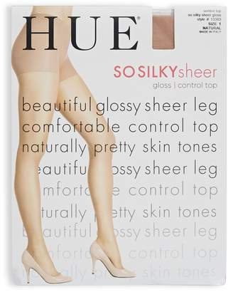 Hue So Silky Glossy Sheer with Control Top