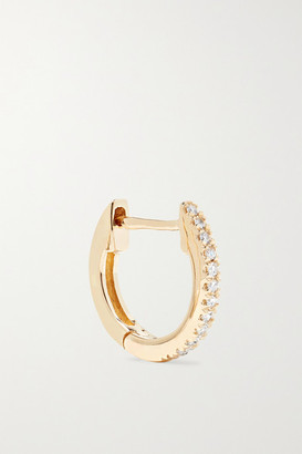 STONE AND STRAND Gold Diamond Earring