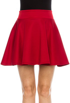 High Waisted Skater Skirt - ShopStyle
