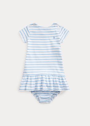 Ralph Lauren Striped Jersey Dress & Bloomer
