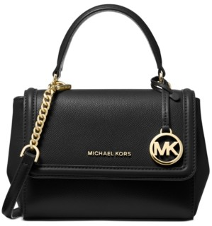 Michael Kors Michael Jet Set Extra Top-Handle Leather Crossbody