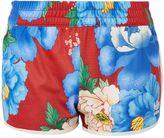 adidas Floral Trefoil Shorts