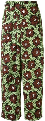 Christian Wijnants Pili Daisy printed trousers