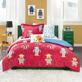 Mi Zone Kids Rockin' Robot Complete Bed and Sheet Set - Full