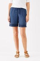 J. Jill Soft Rayon-Twill Shorts