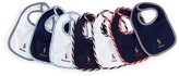 Ralph Lauren Infant Boys' Day of the Week 7-Piece Bib Set
