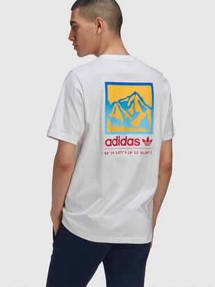adidas Adiplore 2.0 Graphic T-shirt - White