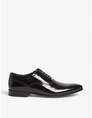 Aldo Sernaglia patent-leather Oxford shoes