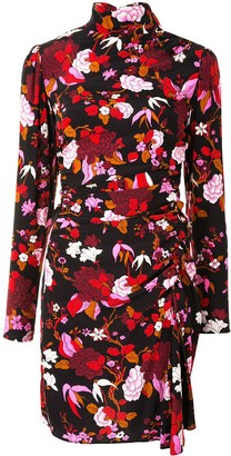 A.L.C. Marcel floral print mini dress