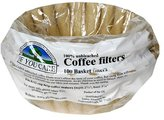 """If You Care Coffee Filters - 8"""" Basket Filters (poly bag) (24x100ct)"""