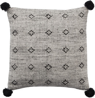 Jaipur Living Berlynn Geometric Gray & Black Throw Pillow