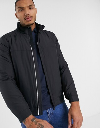 Boss Athleisure BOSS Athleisure J_Marconi light weight quilt jacket in black