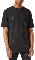 Topman Men's Aaa Collection Eyelet T-Shirt