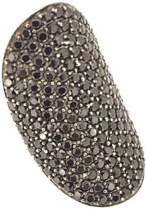 Arthur Marder Fine Jewelry Silver Black Spinel Ring