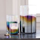 west elm Luster Vases + Hurricanes - Gunmetal