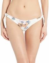 RVCA Junior's Romeo Floral Cheeky FIT Bikini Bottom