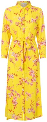 Charlotte Sparre Iben Yellow My Shirt Dress - xs | viscose | Iben Yellow
