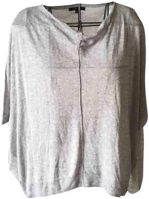 Pas De Calais Grey Cashmere Knitwear