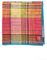 Men's Armstrong & Wilson Mixed Berries Linen Pocket Square