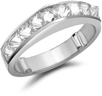 Pragnell 18kt white gold RockChic peaked diamond ring