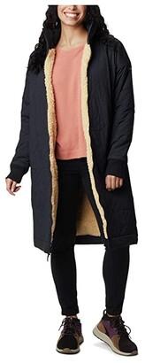 Columbia Kinzu Point Reversible Jacket (Black/Ceramic Sherpa) Women's Clothing