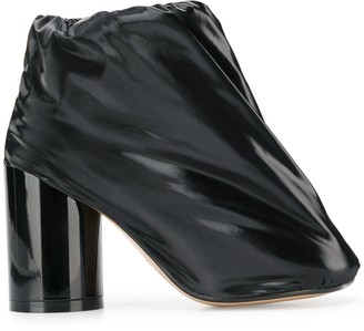 MM6 MAISON MARGIELA Covered Patent-Leather Boots