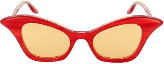 Gucci Cat Eye Frame Sunglasses