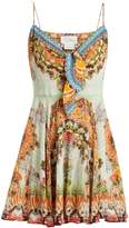 Camilla Slice Of Paradise silk dress