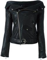 Faith Connexion Leather Sailor Jacket