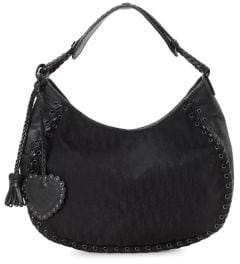 Christian Dior Vintage Trotter Hobo Shoulder Bag