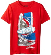 Converse Stacked Remix Tee Boy's T Shirt