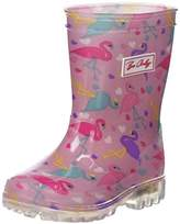 BeOnly Be Only Girls' Flamingo Kid Flash Rain Boots pink Size: 11.5UK Child