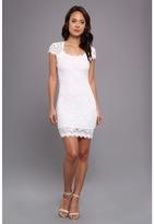 Type Z Teza Lace Dress (White) Women's Dress