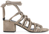Senso Racquel sandals - women - Leather/Suede/Synthetic Resin - 35