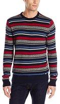 Dickies Men's Jordan Allover Variegated-Stripe Sweater