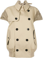 Sacai trench jacket - women - Cotton/Polyester - 1