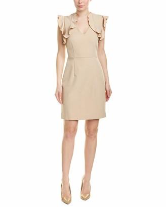 Sharagano Women's Dress w/Ruffles