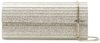 Jimmy Choo Sweetie glittered clutch