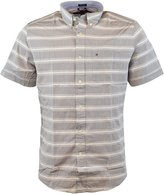 Tommy Hilfiger Mens Short Sleeve Classic Fit Button-Down Shirt