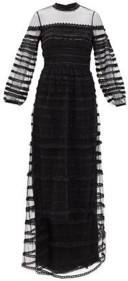 Temperley London Promise Embellished-tulle Dress - Black
