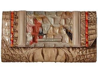 Brahmin Rosella Soft Checkbook Wallet