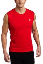 Champion Men's Jersey Muscle T-Shirt,Black,Large